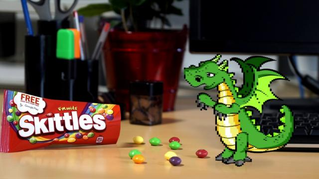 Skittles - Knight vs Dragon